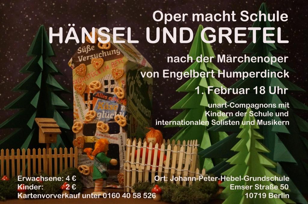 Hänsel und Gretel Plakat letzte Fassung
